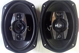Champions Series 6x9 Inches Car Stereo Sound System Speakers With Tweeter 1000 …