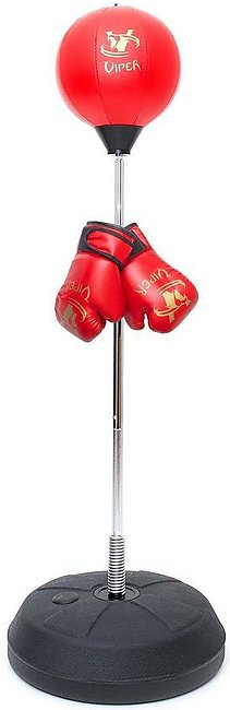 Viper Kids Punching Boxing Speed fitness Ball Standing Bag Tumbler Agility Stan…