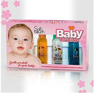 4 in 1 Soft Touch Baby Kit Baby Gift Baby Soap- Baby Lotion- Baby Shampoo- Baby…