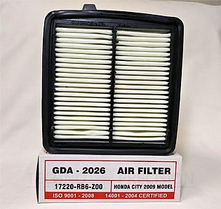GuardAir Filter GDA-2026 for HONDA CITY New Model 2009 ONWARD, FIT, SUTTLE, FRE…