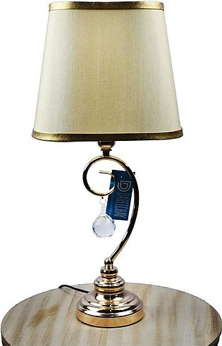 Gold Bow with Hanging Crystal Table Lamp – OTL41