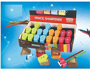 Pack of 4 - Double Pencil Sharpeners