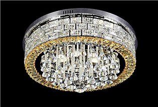 New Round LED Crystal Ceiling Light For Living Room Indoor Lamp