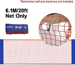 6M Foldable Portable Badminton Net Volleyball Tennis Nets With Frame Stand Bag