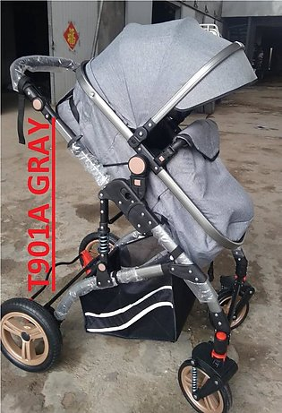 Foldable Baby Stroller Pram for New Born Baby with Luggage Bags and Space