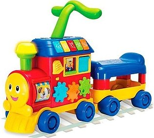 Ride on Learning Train - Multicolor