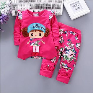 Lovely Cute Doll Suit Girl Boys Suit Fashion Comfortable Casual Suit