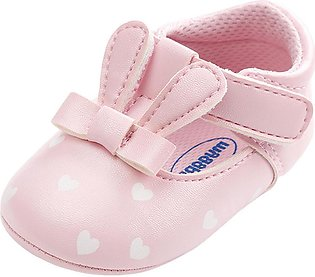 Kids Baby Girls boy shoes Baby Girl Rabbit Ears Fashion Toddler First Walkers K…
