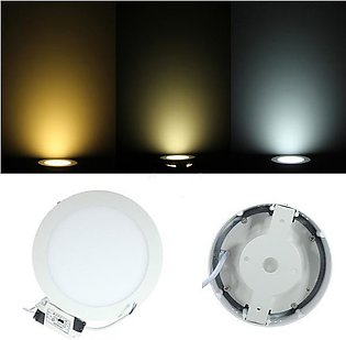 9W Dimmable LED Surface Panel Wall Ceiling Down Lights Mount Bulb Lamp