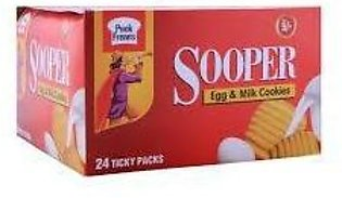 Sooper Biscuit Ticky Pack 24Pcs Box