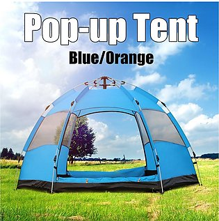 + Super Deal ?5-6 People Waterproof Automatic Outdoor Instant Pop Up Tent Campi…