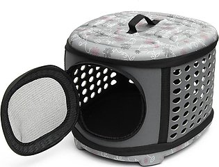happy-island   Small Pet Dog Cat Puppy Kitten Carrier Portable Cage Crate Trans…