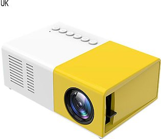 J9 Mini Projector Household Full High Definition LED Support AV CVBS HDMI USB
