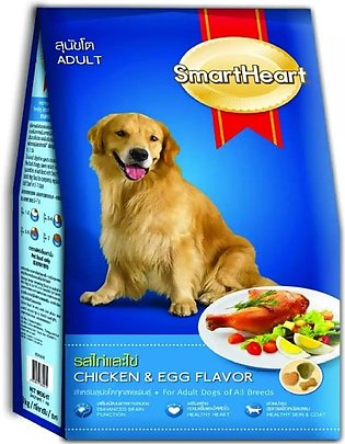 SmartHeart Dry Dog Food Chicken and Egg Flavor 10 KG IMPORTED FROM THAILAND