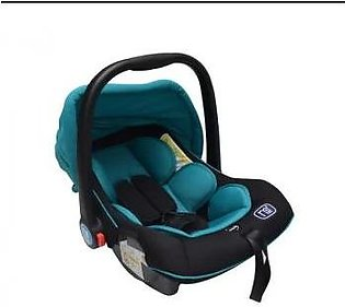 Newborn Baby Carrier & Portable Car Seat Carriage Basket Carry Cot (Green)