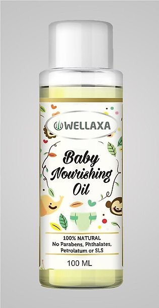 Baby Nourishing Oil with Almond Grape seed Olive and Coconut Oils  Pure and Nat…