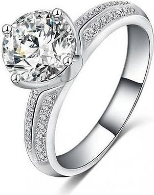 World Wide Stunning Silver Plated Ring For Women