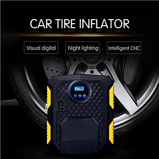 Digital Tire Inflator DC 12 Volt Car Portable Air Compressor Pump 150 PSI Car A…