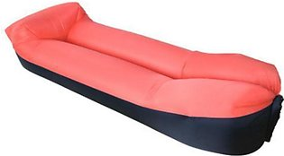 Outdoor Travel Pillow Lazy Sofa Fast Air Inflatable Beach Sleeping Bed Upgraded…