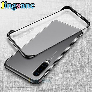 Huawei P30 Lite Frameles Case PC Case Hard Transparent Matte Back Cover For Hua…