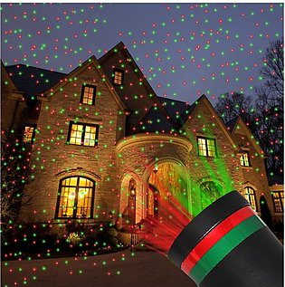 Outdoor Garden Lawn Stage Effect Light Fairy Sky Star Laser Projector Waterproo…