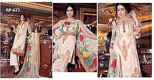 Gul Ahmed Festive Eid Collection White Dress