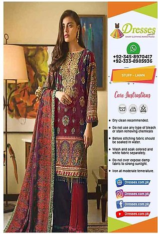 Gul Ahmed Latest Eid Dresses