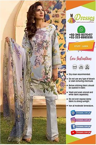 Firdous New Lawn Collection 2019