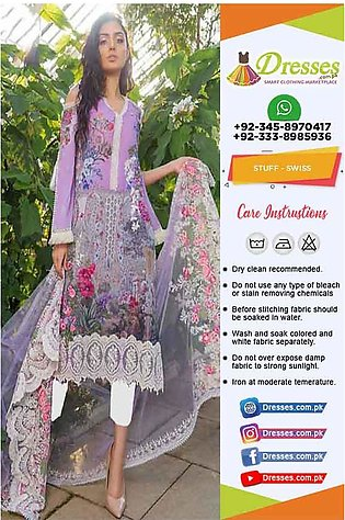 Sobia Nazir Swiss Lawn Collection 2019