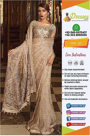 Maria B Wedding Saree Collection