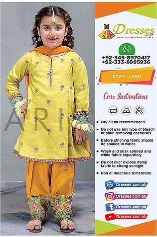 Maria B Kids Lawn Collection Online