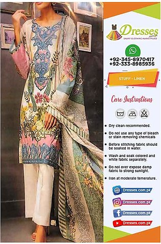 Gul Ahmed Linen Clothes Online