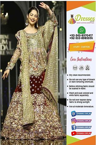 Pakistani Bridal Chiffon Dresses