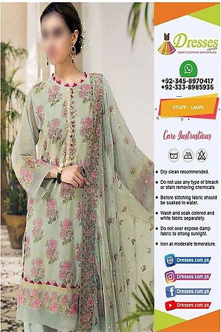 Gul Ahmed Latest Summer Dress