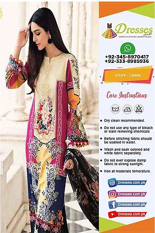 Gul Ahmed Latest Lawn Collection