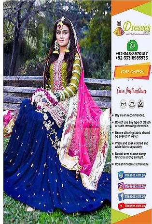 Pakistani Lehenga Bridal Dresses