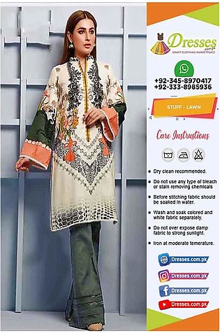 Firdous Latest Lawn Clothes 2020