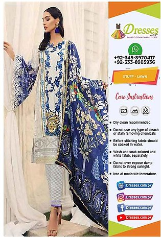Charizma Printed Lawn Clothes