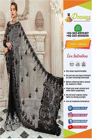 Maria B Latest Eid Saree Online