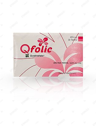 Qfolic 400mg Tablet