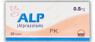 Alp Tablets 0.5mg 3X10's