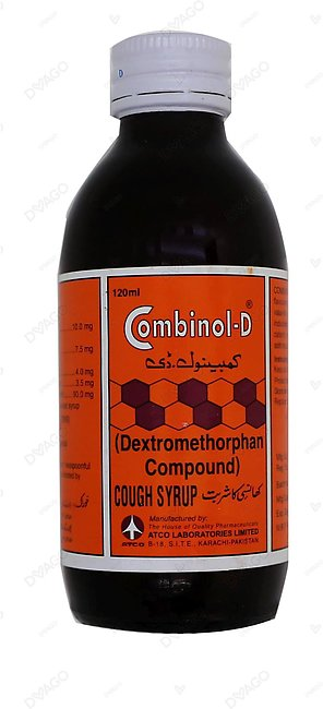 Combinol-D Cough Syrup 120ml