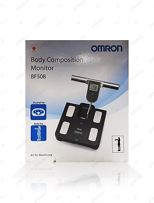 Omron Body Composition And Body Fat Monitor Bathroom Scale BF508