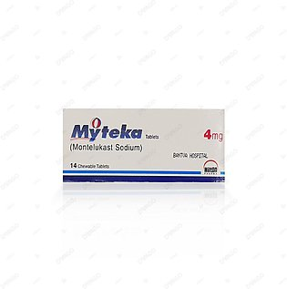 Myteka Tablets 4mg 14's