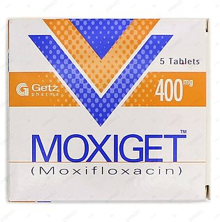 Moxiget Tablets 400mg 5's