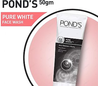 Ponds Pure White Deep Cleansing Face Wash 50g
