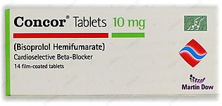 Concor Tablets 10mg 14's