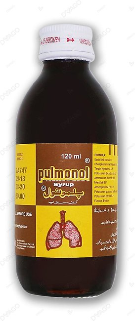 Pulmonol Cough Syrup 120ml