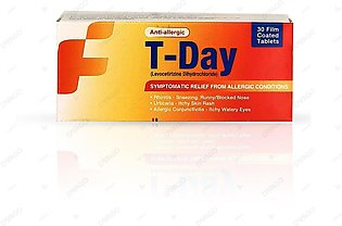 T-Day 5mg Tablets T-30