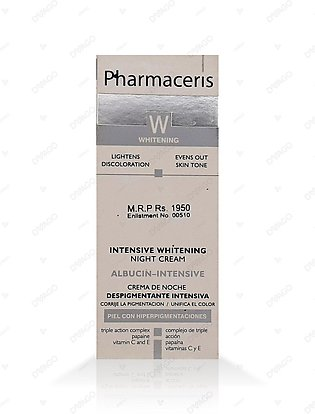 Pharmaceris Albucin-Intensive Whitening Night Cream 30ml